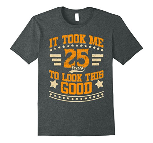 Mens Vintage Made In 1993 It Took Me 25 Years 25th Birthday Gifts XL Dark Heather