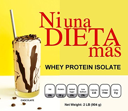 Amazon.com: Ni Una Dieta Mas - Whey Protein Isolate (Chocolate): Health & Personal Care