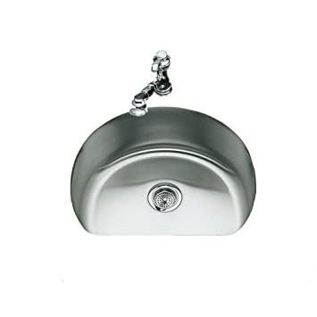 Kohler K 3186 Na Undertone Medium D Bowl Kitchen Sink Stainless Steel