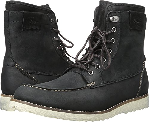 G.H. Bass & Co. Men's Shane Engineer Boot, Black, 10 M (Leather Genuine Boots)