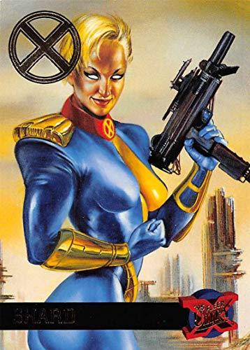 2018 Fleer Ultra X-Men X-Men Buybacks 1995 Non Sport #43 Shard SER/20 Official Marvel Trading Card by Upper Deck