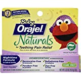Orajel Baby Naturals Nighttime Teething Gel, 0.33 Oz