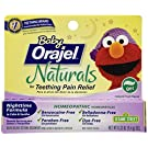 Orajel Baby Naturals Nighttime Teething Gel, 0.33 Oz
