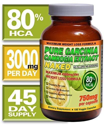 180 Capsules. 100% Garcinia Cambogia, Extra Strength. 100% Lifetime Money Back Guarantee - Order Risk Free!