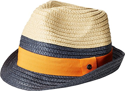 Appaman Kids Baby Boy's Mercer Fedora (Infant/Toddler/Little Kids/Big Kids) Deep Cobalt Hat