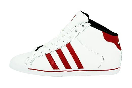 adidas Court Star Slim MID Weiss Damen Sneakers Schuhe