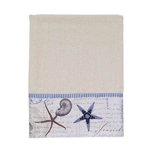 (Avanti Linens Antigua Bath Towel, Ivory)