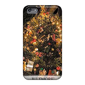 Apple Iphone 6 ZOb1236nKcG Unique Design Fashion Biltmore House Christmas Tree Image Best Hard Cell-phone Cases -ChristopherWalsh