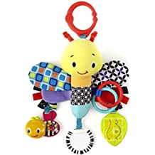 Bright Starts Start Your Senses Sensory Plush Pals, Dragonfly (Discontinued by Manufacturer)