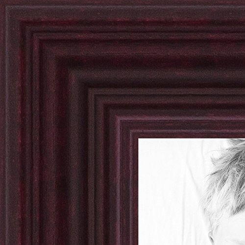 ArtToFrames 15x19 inch Cherry Stain on Hard Maple Wood Picture Frame, 2WOM0066-60823-YCHY-15x19