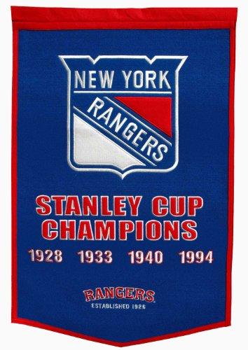 NHL New York Rangers Dynasty Banner