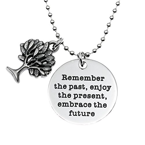 eacher Gifts, Remember The Past Enjoy the Present Embrace The Future Teacher Retirement Gifts, College Graduation Gifts. ()