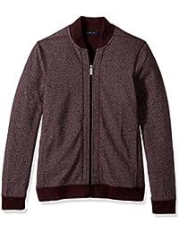 Men's Texture Bomber Knit Jacket