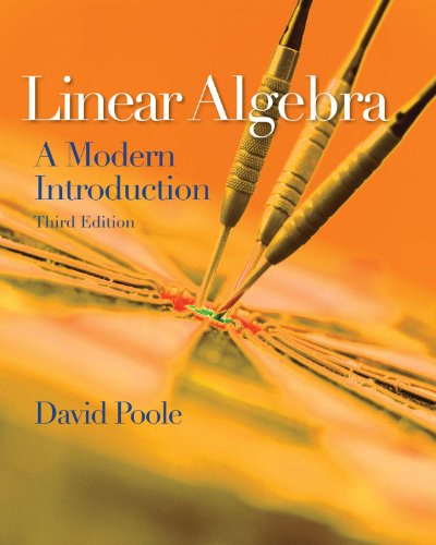 Linear Algebra: A Modern Introduction (Available 2011 Titles Enhanced Web Assign) Pdf