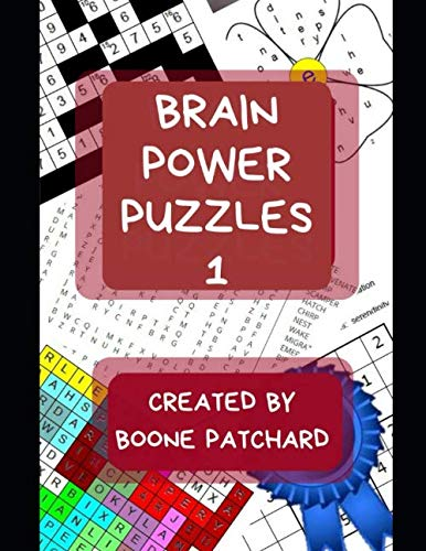 (Brain Power Puzzles: Activity Book of Word Searches, Sudoku, Math Puzzles, Hidden Words, Anagrams, Scrambled Words, Codes, Riddles, Trivia, Jokes, Boggle Boards, Mazes and More)