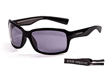 Ocean Sunglasses Venezia - Gafas de Sol polarizadas - Montura : Negro Mate - Lentes :