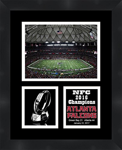 Atlanta Falcons Picture Frame - Atlanta Falcons NFC 2016 Champions Framed 11 x 14 Matted Collage Framed Photos Ready to hang