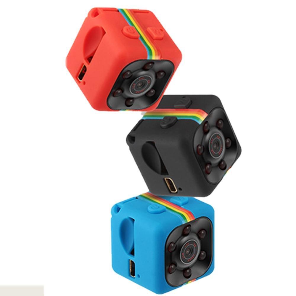 Pawaca Mini Kamera 1080P SQ11 HD Camcorder DV-Recorder Nachtsicht Sport DV Kamera Video Recorder Infrarot Auto DVR Kamera Bewegungserkennung