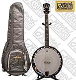 Oscar Schmidt 6-String Banjo, Remo Head, Mahogany Resonator Oscar GIG BAG, OB6 BAG
