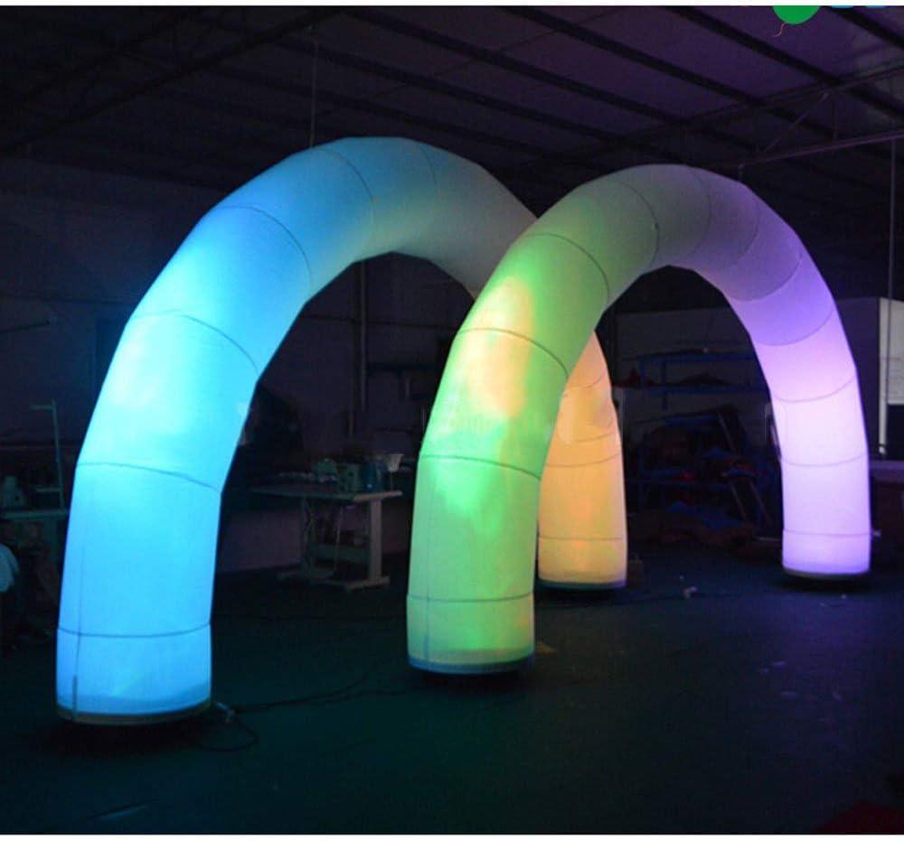 Amazon.com: Foammaker - Arco hinchable con iluminación LED ...