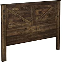 Ameriwood Home 5749215COM Farmington Headboard, Queen, Heritage Pine