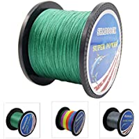 Super Strong Braided Fishing Line - 4 Strands...