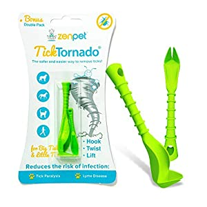 Tick Tornado ZenPet Tick Remover for Dogs & Cats & People - Value Pack - Easy and Fast Tick Removal Tool 4