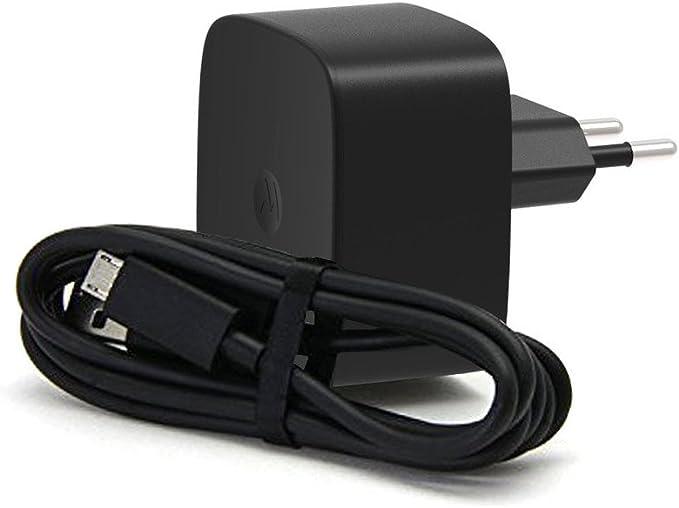 Motorola TurboPower - Cargador para móvil, 15W, 1.6A, color Negro: Amazon.es: Electrónica