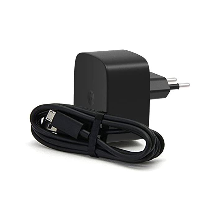 Motorola TurboPower - Cargador para móvil, 15W, 1.6A, color Negro