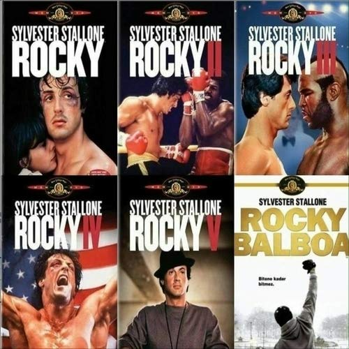 Rocky Complete 6 Movie Collection