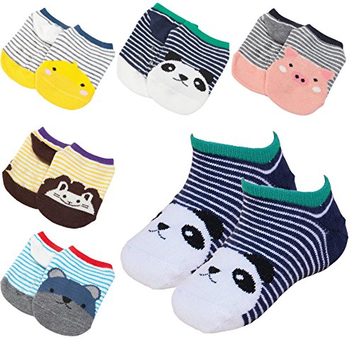 Pairs Ankle Toddler Cartoon No show product image