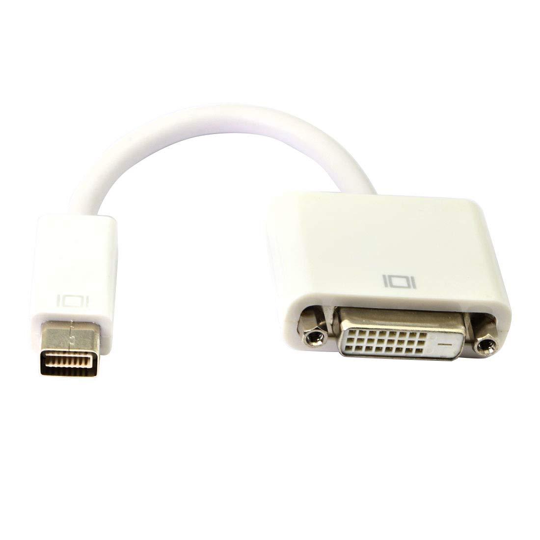 Adattatore video Mini DVI a HDMI,Cavo Mini DVI maschio a HDMI femmina MacBook Mini DVI Adapter per MacBook e iMacs F M