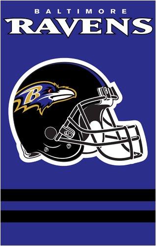AFBA Ravens 44x28 Applique (Ravens Nfl Applique)