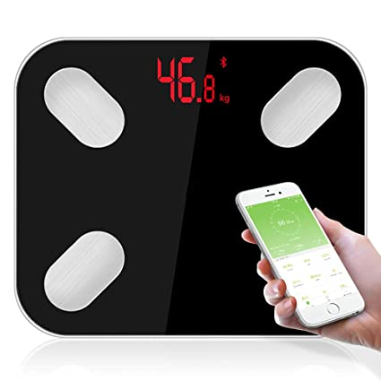 Báscula De Peso Corporal Bluetooth Báscula De Grasa Báscula De Baño Digital De Alta Precisión Báscula