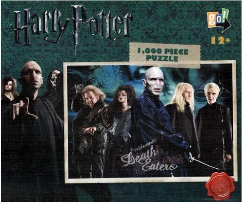 "Harry Potter 1,000 Piece ""Death Eaters"" Jigsaw Puzzle"