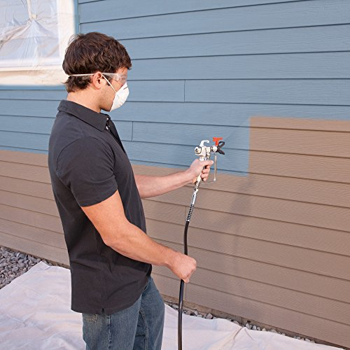 Home Improvement. HomeRight Power Flo Pro 2800 C800879 Airless Paint Sprayer Spray Gun, Power Painting for Home Exterior, Fence, Shed, and Garage 2800 psi, 0.24 gpm #homeimprovement