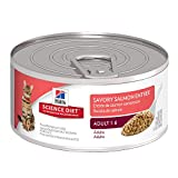 Best Hill's Science Diet Canned Cat - Hill's Science Diet Adult Savory Salmon Entrée Canned Review