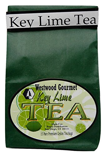 Price comparison product image Westwood Gourmet Flavored Tea,  15 Tea Bags (Key Lime)