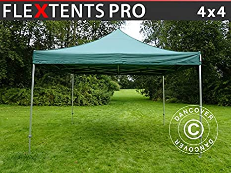 Dancover Carpa Plegable Carpa Rapida FleXtents Pro 4x4m Verde: Amazon.es: Jardín