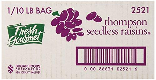Fresh Gourmet Thompson Seedless Raisins, 10 Pound