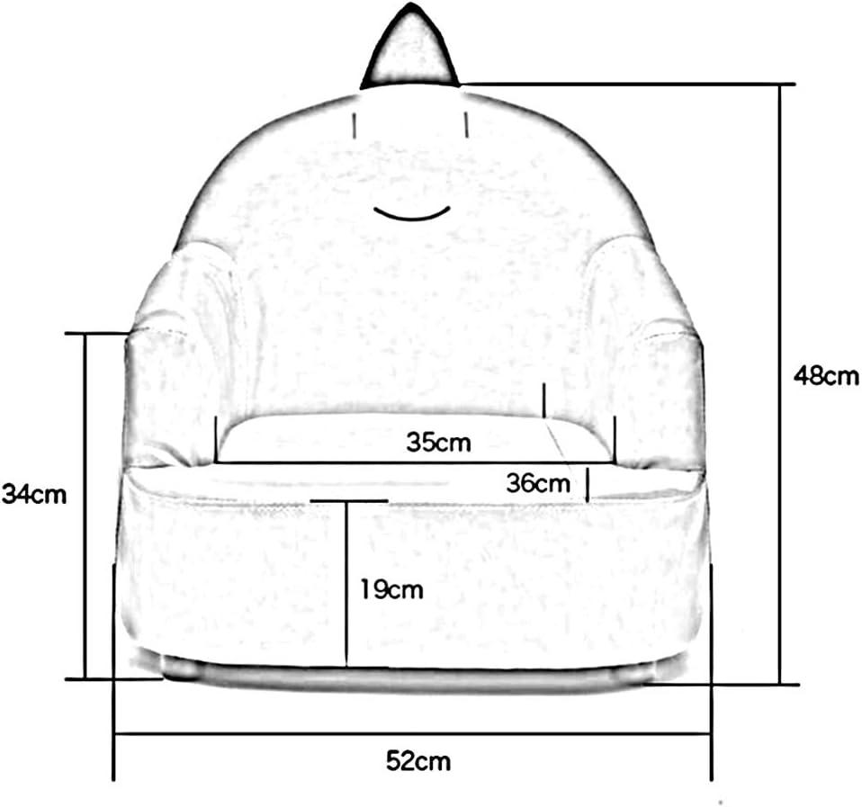 Dall Enfants Petit Canapé Siège en PU Dessin Chaise Siège Paresseux Mini Chaise Bébé (Couleur : T6) T4