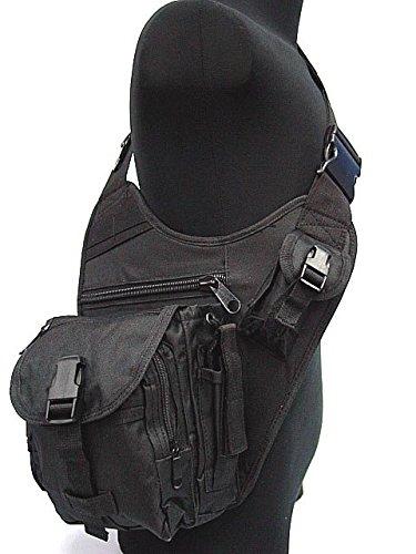 Chic Tactical US Airsoft SWAT Utility Shoulder Bag Pouch BK