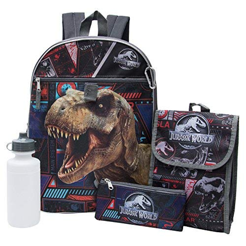 Disney Backpack, Lg Jurassic Park 5in1