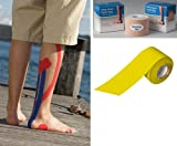 Kinesiology Tape 2 x 15ft Yellow (Catalog Category: Wound Care / Tape-O Athletic Sports Tape)