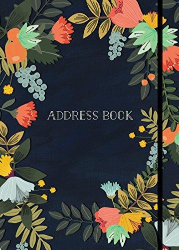 Address Book - Modern Floral - Email Address Us