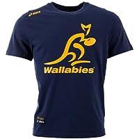 Wallabies Logo Tee Gold 14/15 Australia Asics