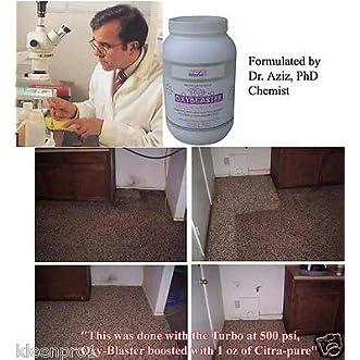 OxyBlaster 6 lbs Tile & Grout Alkaline Powder pH 12 oxy-6 magic wand