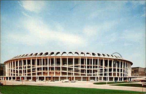 Busch Memorial Stadium, Downtown St. Louis, Missouri Original Vintage Postcard