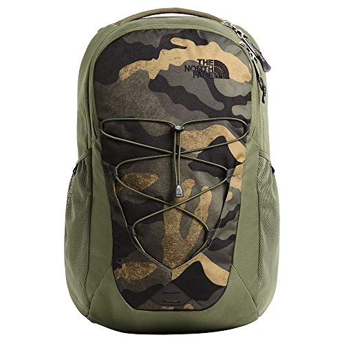- The North Face Jester, Burnt Olive Green Waxed Camo Print/Burnt Olive Green, OS