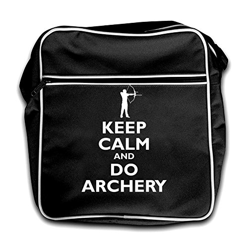 Calm Keep Do Flight Archery And black Black Bag Retro TUUWdqxan